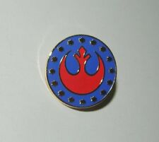 Classic Star Wars Rebel Alliance New Republic Logo Metal Pin 1988, Small Version