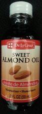 De La Cruz ACEITE DE ALMENDRAS SWEET ALMOND OIL  2 FL