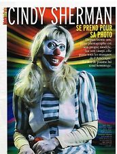Coupure de presse Clipping 2006 (3 pages) Cindy Sherman
