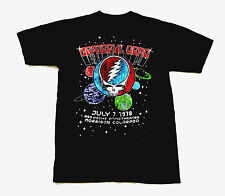 Grateful Dead Shirt T Shirt Red Rocks Colorado CO 7/7/1978 Steal Your Face GDP S