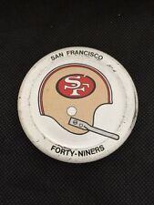 San Francisco 49ers Gatorade Bottle Cap Early 1970s NFL Football Helmet VG!!!