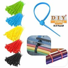 Connector Cable Self-Locking Nylon Cable Ties 100Pcs/Pack Colorful Cable Zip Tie