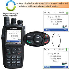 DMR Kydera DM8600 Walkie Talkie 256CH UHF digitale&analogico radio bidirezionale
