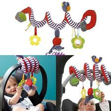 Hanging Spiral Activity-Stroller Pushchair Car Seat Cot Babyplay Travel Toys C