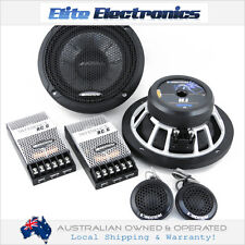 """SOUNDSTREAM RC.6 6.5"""" REFERENCE SERIES 400W COMPONENT SPLIT SYSTEM CAR SPEAKERS"""