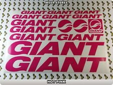 GIANT Stickers Decals Bicycles Bikes Cycles Frames Forks Mountain MTB BMX 59BL