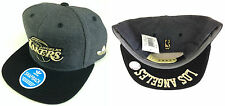 NBA Los Angeles Lakers Adidas Undervisor Gold Lettering Detail Snapback Cap Hat