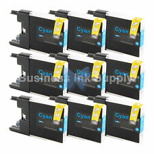 9 CYAN LC71 LC75 Ink Cartridge for Brother MFC-J5910DW MFC-J625DW MFC-J6510DW