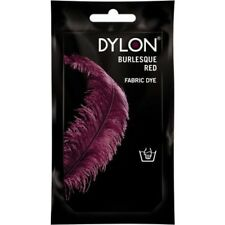 BURLESQUE RED DYLON HAND WASH FABRIC CLOTHES DYE 50g TEXTILE PERMANENT COLOUR