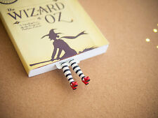 Handmade wicked witch bookmark. Inspired by Wizard of OZ. Great present!