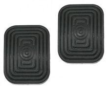 Vw Beetle karmann kübelwagen 2x Rubber pedal rubber Brake Clutch 0257/256