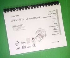 LASER PRINTED Fujifilm FinePix S100fs Instruction Manual Guide182 Pages