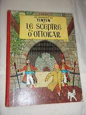 """BD """"TINTIN - LE SCEPTRE D OTTOKAR"""" HERGé (1963) B 33"""