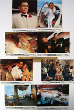 GOLDFINGER - Connery,Blackman Bond007 - Jeu de 8 Photos(ress)/8 FRENCH LC RR