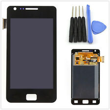 New Full Front LCD + Touch Screen Glass Panel for Samsung Galaxy S2 i9100 Black