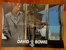 David Bowie DER MANN, DER VOM HIMMEL FIEL Kinoplakat bzw. Aushangfoto *b