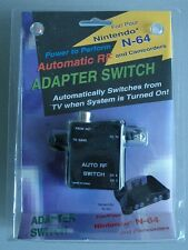 AUTOMATIC RF ADAPTER SWITCH PARA NINTENDO N64 -PARA CONECTAR N64 CON LA TV