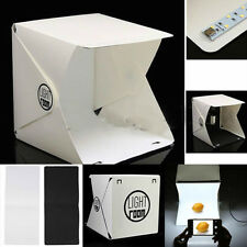 "Light Room Mini Photo Studio 9"" Photography Lighting Tent Backdrop Cube Box FF"