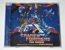 TRANSFORMERS THE MOVIE CD ORIGINAL 80's CARTOON SOUNDTRACK SEALED NEW INTRADA