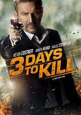 3 Days to Kill (DVD, 2014): Kevin Kostner, Amber Heard