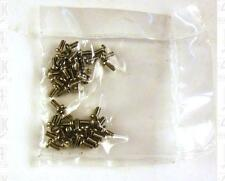 Miniature Hardware Parts Pack 50 Small Stainless Machine Screws 0-80 x 1/8
