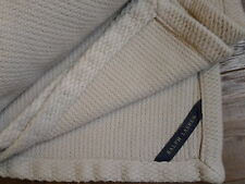 Ralph Lauren Home Full/Queen Bed Blanket Heavy Quality Wheat Blue Label India