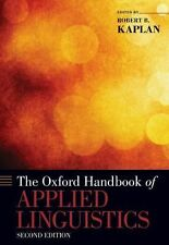 Oxford Handbooks: Applied Linguistics (2010, Paperback)