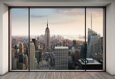 "Mural De Pared De Ciudad de Nueva York ""Penthouse"" Foto Wallpaper 368x254cm Arte De Pared"