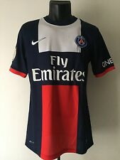 Maillot PSG Paris Saint Germain Porté Pastore Match Worn Shirt