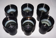 6 pieces 1.2/50 mm Soviet USSR projection fast rare lens RO-109 16KP-1,2/50