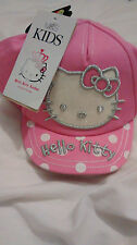 BRAND NEW - GIRLS BASKETBALL CAP - MARKS AND SPENCER - 6-18 MONTHS - HELLO KITTY