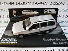 OPE133 1/43 IXO designer serie OPEL collection : KADETT E Break G.Brown silver