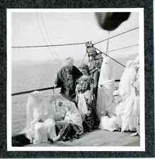 Algérie, bateau Île-de-France, les voyageurs   Vintage print Tirage argentique