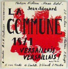 La Commune 1871 45 tours Philippe Richeux Annie Nobel