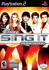 Disney Sing It: Pop Hits (PS2 Game)