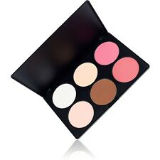 Coastal Scents 6 Color Contour & Blush Palette UK NEW