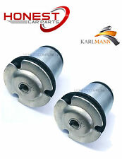 For FIAT STILO 2001-2007 REAR SUSPENSION AXLE BUSHES x2 By Karlmann