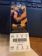 2015 MIZZOU MISSOURI TIGERS VS SOUTH CAROLINA TICKET STUB 10/3 COLLEGE FOOTBALL