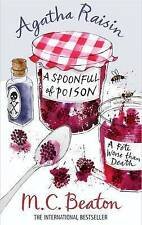 Agatha Raisin and a Spoonfull of Poison by M. C. Beaton (Paperback) New Book
