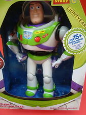 Toy Story Buzz Lightyear Talking Action Figure pop-out wings Laser light Up 12""