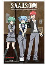 *NEW* Assasination Classroom  S.A.A.U.S.O. Paper Poster by GE Animation