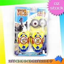 New Despicable Me Minions Stuart & Dave Walkie Talkie Set for Kid Gift