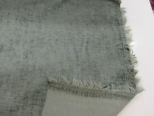 Teal Green Plain Heavy Upholstery Chenille Fabric. (Clearance)