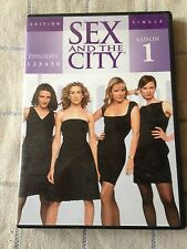 sex and the city saison 1 DVD épisodes 1 2 3 4 5 6