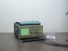 TEKTRONIX 2445 FOUR CHANNEL ANALOG/DIGITAL OSCILLOSCOPE 4x 150MHz *F535