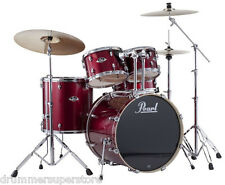 Pearl Export Drum Set 5 Piece Kit w/ Hardware EXX725S/C91 Red Wine Finish