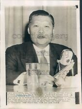 1954 George Kung-chao Yeh of China Press Photo