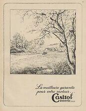 Y9341 Lubrificante CASTROL - Illustrazione - Pubblicità d'epoca - 1937 Old ad