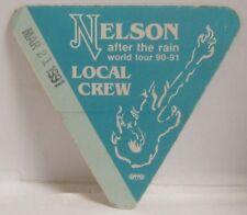 NELSON - VINTAGE ORIGINAL CLOTH TOUR CONCERT BACKSTAGE PASS ***LAST ONE***