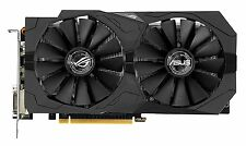 Asus GeForce GTX 1050 Ti ROG Strix Graphics Card, 4GB GDDR5, DVI-D, HDMI 2.0, DP